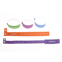 Single-use RFID Paper Wristband