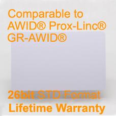 AWID Printable proximity card 26bit