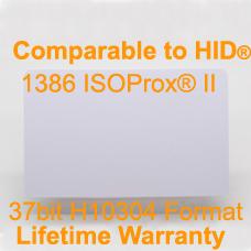 Printabel Proximity Card-37bit H10304 HID 1386&1586