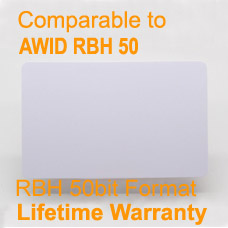 CR80 PVC Card for RBH 50