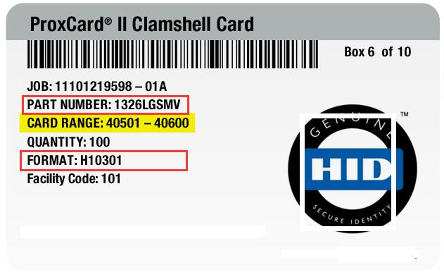 How to order HID Prox Compatible Card_Nubian-rfid