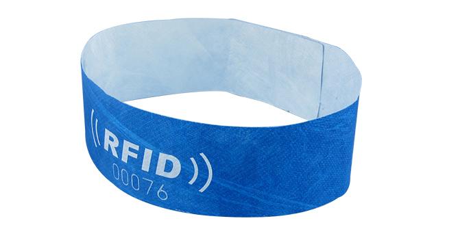 Single Use Rfid Tyvek Wristband Nubian